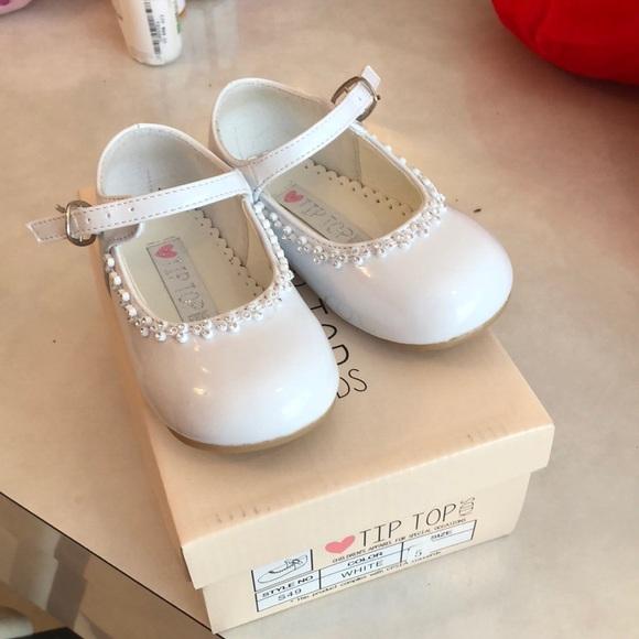 Baby Girl White Fancy Shoes | Poshmark